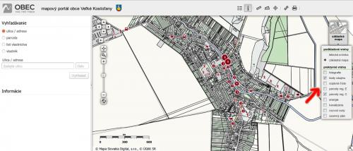 7a898ec52 Oficiálna stránka obce Veľké Kostoľany - mapový portál